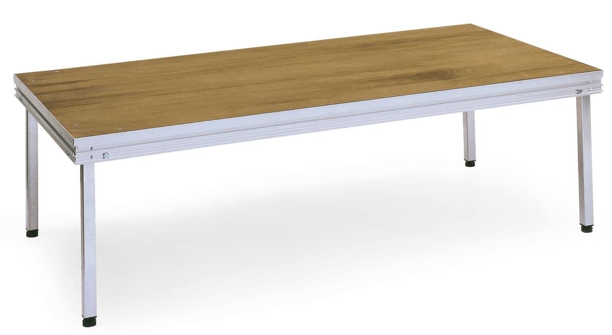 Praktikus, Plataforma agregada con patas desmontables, para uso en exteriores