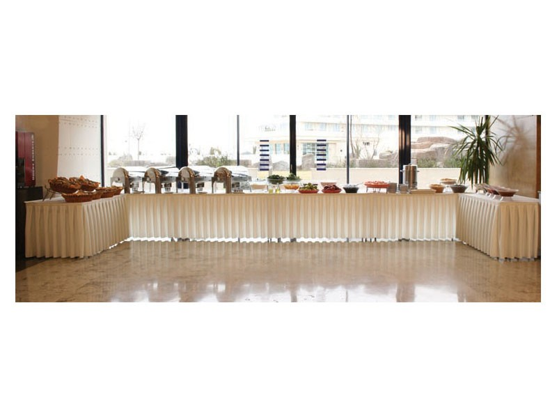 Pro Deco, Bordeando para mesas y plataformas, para buffet y catering