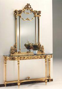 2635 Consola, Mesa de consola de estilo Luis XVI