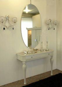 3525 CONSOLA, Consolas clásico, lacado brillante, por vestíbulo del hotel