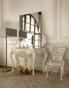 Adele Consola, Consola clásica, en madera tallada