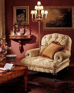 Albina console, Consolle madera con 3 cajones, montaje en la pared, estilo clásico