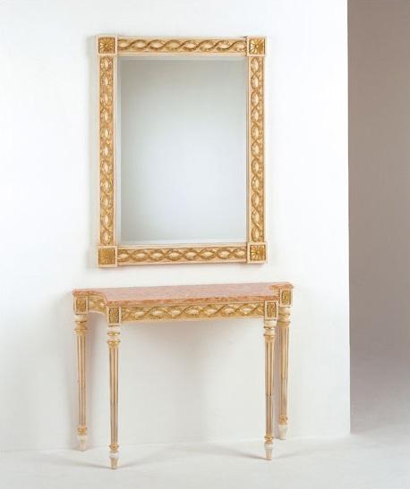 Art. 710, Clásico de la consola de lujo, tapa de mármol, para las entradas