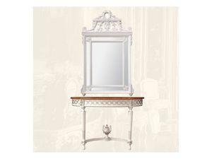 Console art. 207, Consolle con la tapa de m�rmol, estilo Luis XVI