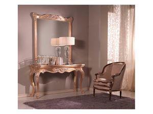 Consolle + Mirror, Consolle y el espejo, estilo veneciano