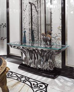 FICUS Consolle, Mesa consola de vidrio de lujo