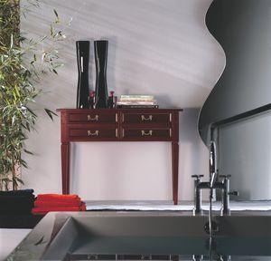 Villa Borghese consolle 4370, Mesa consola estilo directoire
