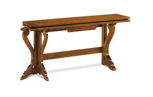 Art. 82, Consola de madera mesa convertible en una mesa