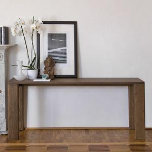 Keel consola, Consola de madera, diseño elegante y esencial