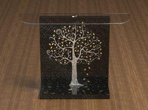 Klimt, Consola con decoración Klimt.