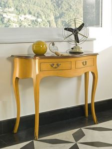 NEMESI Art. 3800, Consolas de madera lacada, estilo clásico, para la sala