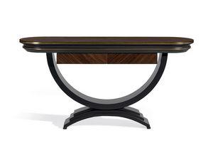Oliver Art. OL24, Consola con curvas elegantes y elegantes.