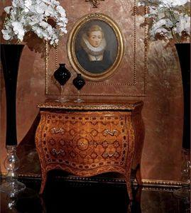 Art. 400, Aparador de estilo clásico con 2 cajones, madera decorada