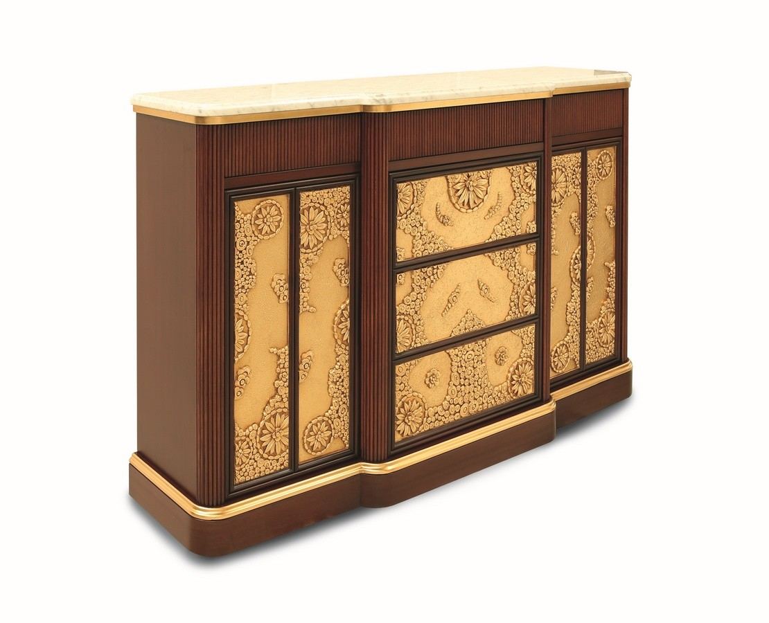 Orion, Muebles de sala, de estilo Art Deco, con tapa de mármol