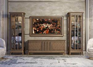 Art. 5005, Mueble bajo en nogal canaletto