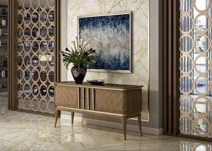 Art. 5025, Mueble bajo en madera de nogal