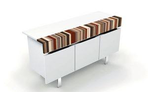 ATHENA 1.7 BC LA-WHITE, Sillón elegante con 3 puertas, hecho a mano, ideal para ambientes modernos