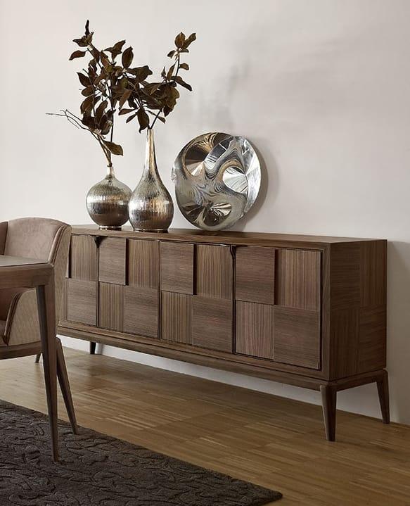 Fionn apartador, Aparador de madera para sala de estar moderna