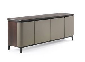 Manda Aparador, Aparador de madera, con interiores personalizables