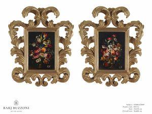 Flowers with vase – H 3898-3899, Pinturas al óleo florales