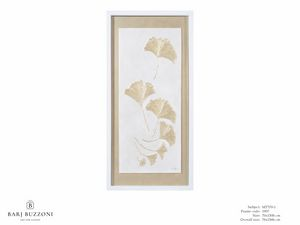 Gingko biloba ina a cool breeze - MT370-1, Obra táctil con efecto de bajorrelieve