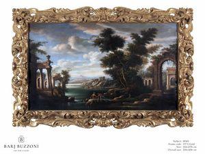 Old architectural remains – SP 401, Pintura al óleo, estilo clásico