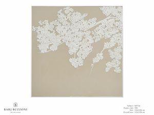 Then shy flowering after winter - MT714, Cuadro efecto bajorrelieve