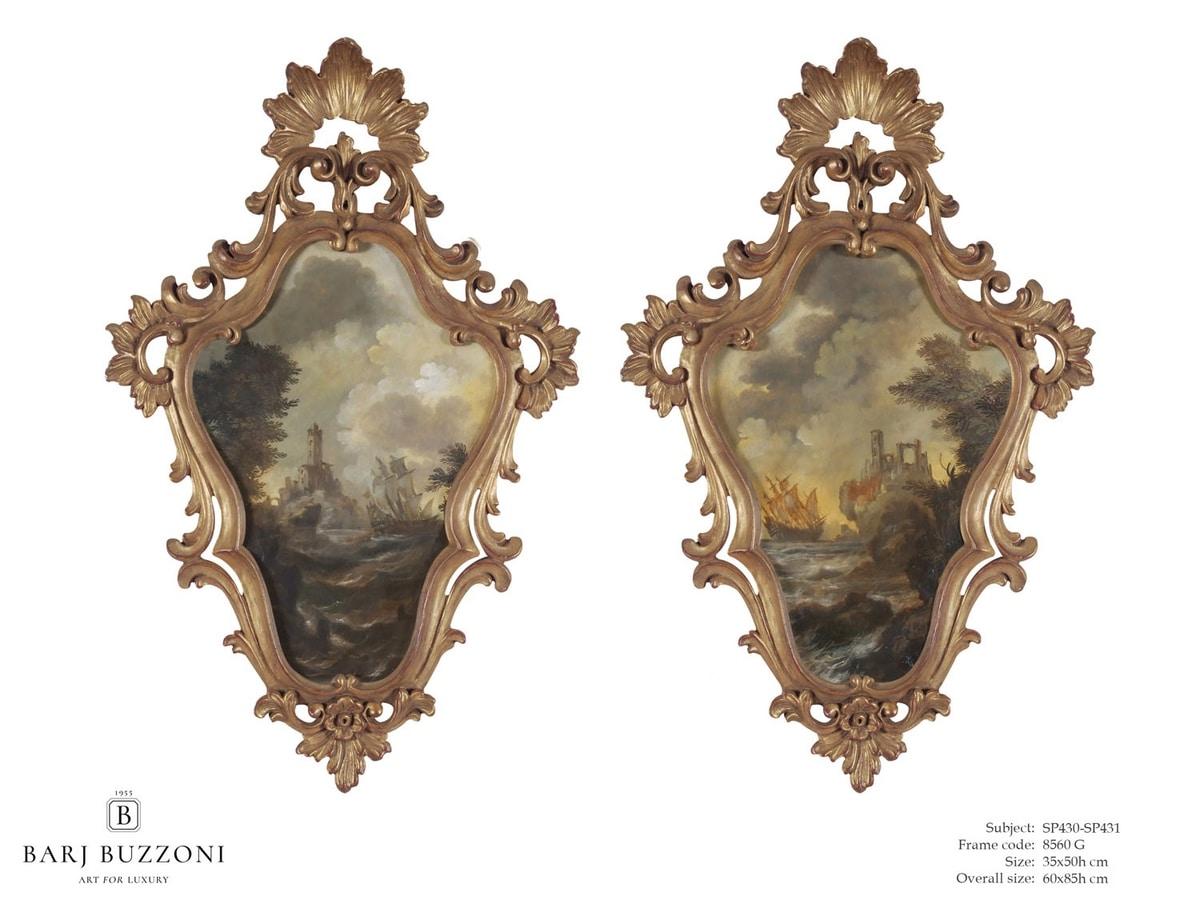 Timeless landscape – SP 430-431, Pinturas al óleo clásicas sobre lienzo