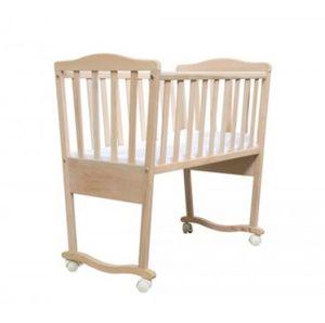 BABY, Cuna de madera, con un estilo sobrio, para viveros