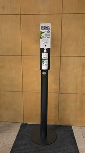 LEAP 2020 MA04, Soporte dispensador manual, anti-covid