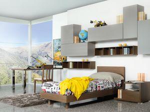 Climb Chicos 13, Dormitorio modular para los niños, funcional y moderna