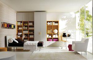 Comp. 104, Camas para niños, sala reconfigurable, estilo moderno
