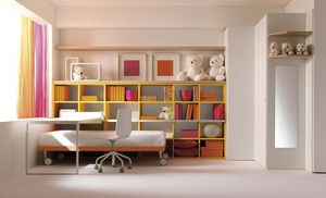 Comp. 112, Dormitorios brillantes en estilo moderno
