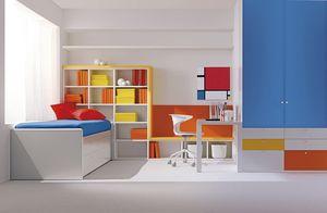Comp. 113, Habitación pequeña para los niños, colores primarios, la atención al detalle