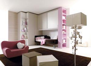 Comp. 207, Dormitorio de los niños con un estilo moderno