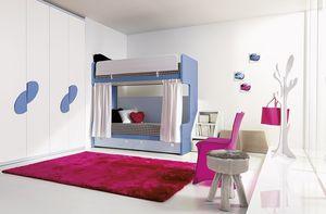 Comp. 311, Soluciones para la habitación de los niños, varios acabados