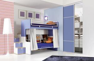 Comp. 903, Niños habitaciones con literas, funcionales y ordenadas