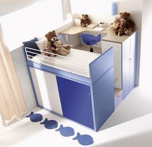 Comp. 909, Sistemas modulares para niños, varios colores