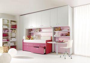 Comp. 930, Muebles para el dormitorio, componentes modulares infantiles