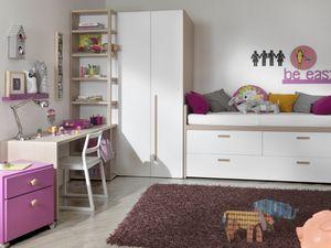 Compact 2012, Dormitorio para niños con vestidor.