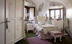 Gaia, Dormitorio de niña con una cama en forma de corazón