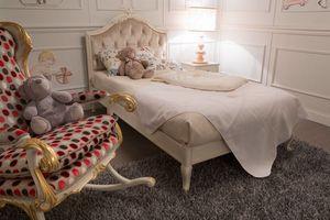 Happy dormitorio infantil, Elegante dormitorio infantil en estilo clásico.