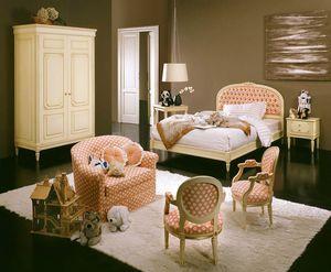 Hello dormitorio infantil, Dormitorio infantil de estilo clásico