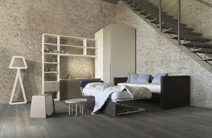 Natural comp.07, Dormitorio con sofá cama que contiene una segunda cama