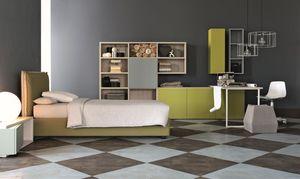 Comp. New 149, Muebles de habitaciones, elegantes geometrías de los niños