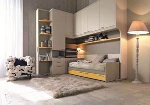 Comp. New 151, Sitio moderno para los niños, con puertas que ahorran espacio