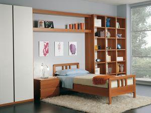 Niños Dormitorio 02, Dormitorio modular de estilo moderno