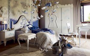 Onda con Pirata, Dormitorio de niño con decoración pirata