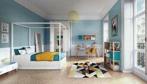 Young 1810, Dormitorio infantil moderno con escritorio