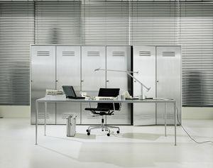 CITYBOX comp.02, Gabinete para la oficina, con puerta de acero